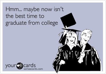 Hmm... maybe now isn't