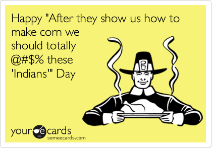 "Happy ""After they show us how to make corn we
