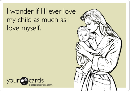 I wonder if I'll ever love