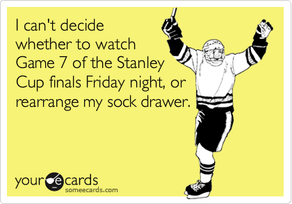 I can't decide