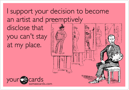 I support your decision to become