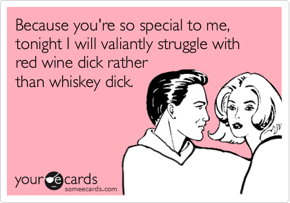 Because you're so special to me, 