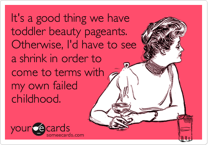 It's a good thing we have