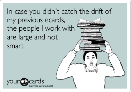 In case you didn't catch the drift of my previous ecards,