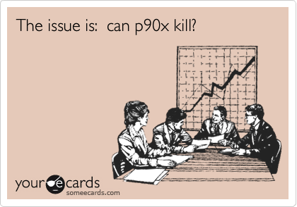 The issue is:  can p90x kill?