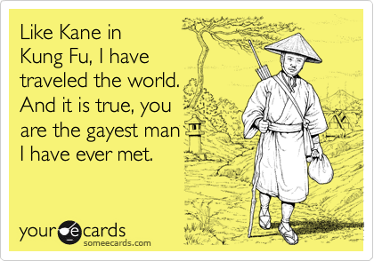 Like Kane in 