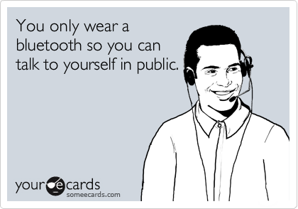 You only wear a