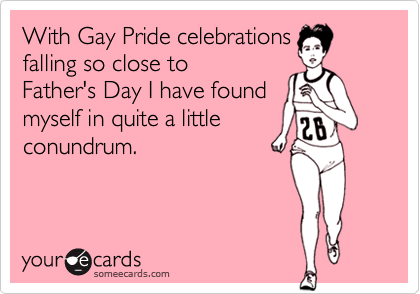 With Gay Pride celebrations