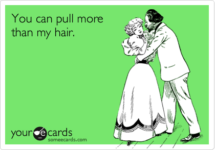 You can pull more