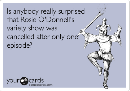 Is anybody really surprised