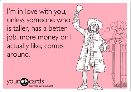 I'm in love with you,