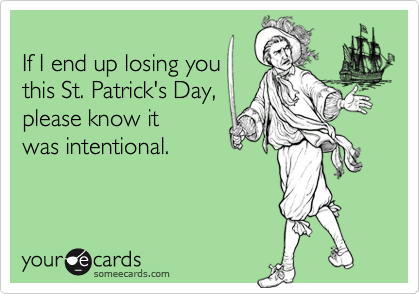 If I end up losing you