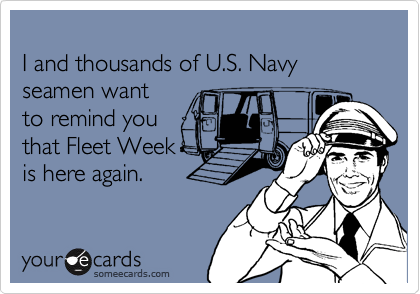 I and thousands of U.S. Navy seamen want 