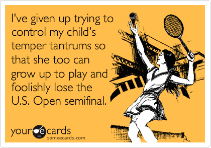 I've given up trying to