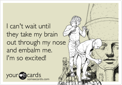 I can't wait until