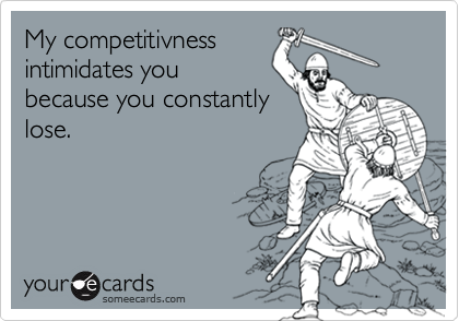 My competitivness