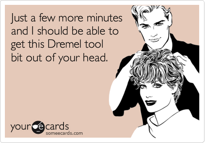 Just a few more minutes