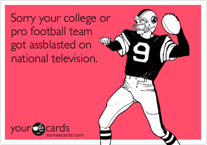 Sorry your college or