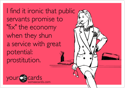 I find it ironic that public