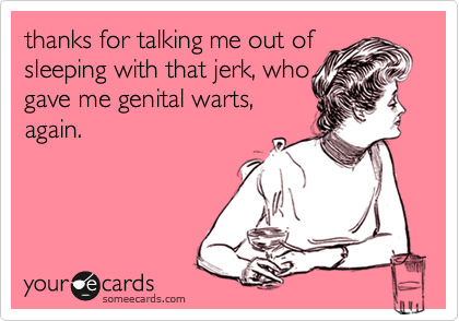 thanks for talking me out of
