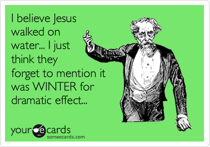 I believe Jesus
