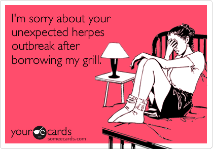 I'm sorry about your 
