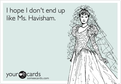 I hope I don't end up