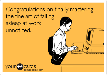 Congratulations On Finally Mastering The Fine Art Of Falling ...