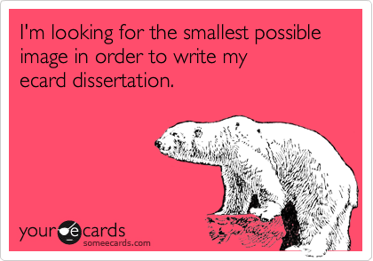 I'm looking for the smallest possible 
