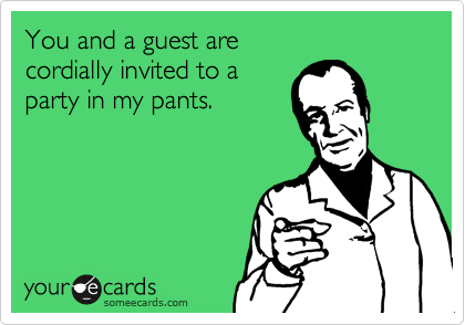 You and a guest are 