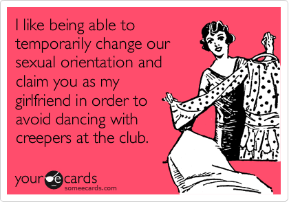I like being able to