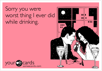 Sorry you were
