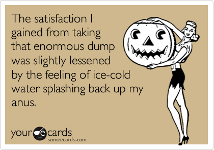 The satisfaction I