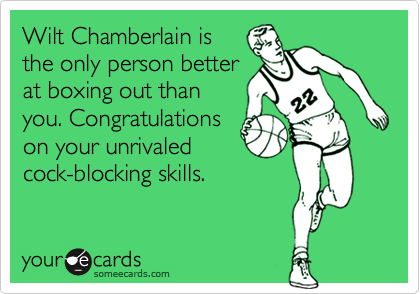 Wilt Chamberlain is