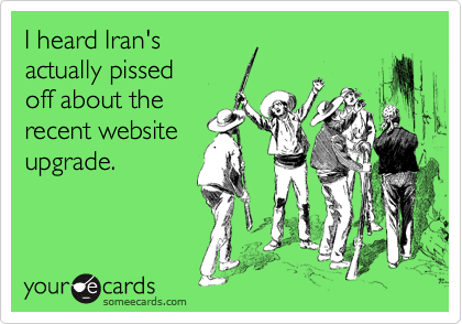 I heard Iran's 