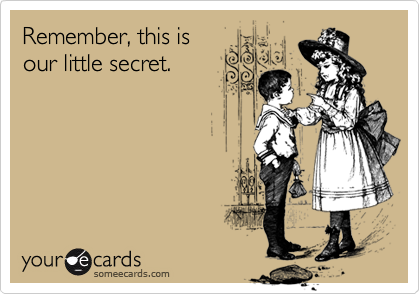 Remember, this is