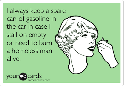I always keep a spare