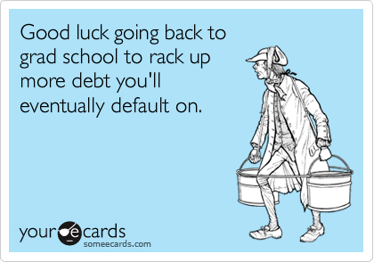 Good luck going back to