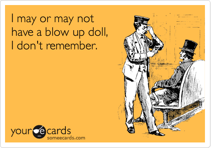 I may or may not 
