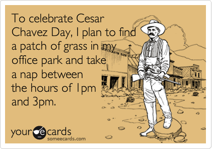 To celebrate Cesar