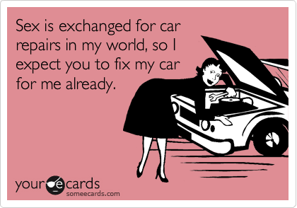 Sex is exchanged for car 