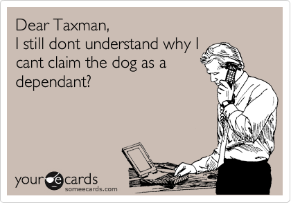 Dear Taxman,
