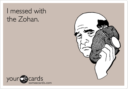 I messed with