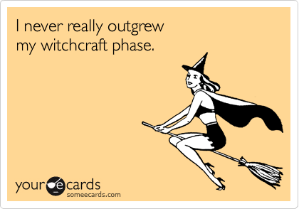 I never really outgrew