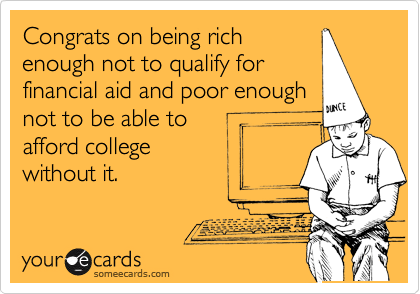 Congrats on being rich