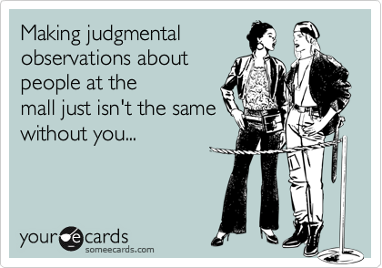 Making judgmental
