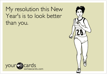 My resolution this New