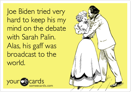 Joe Biden tried very