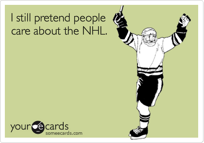 I still pretend people