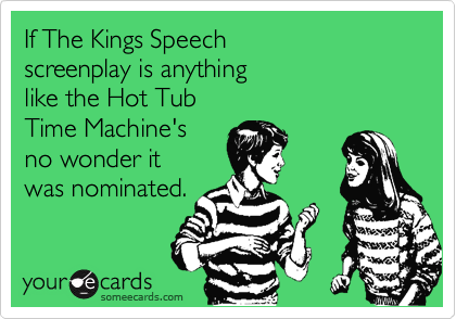 If The Kings Speech